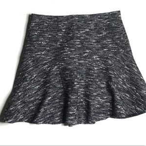 J. CREW tweed plaza mini skirt size 6